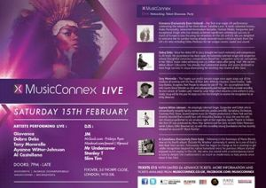 Music Connex Live flyer