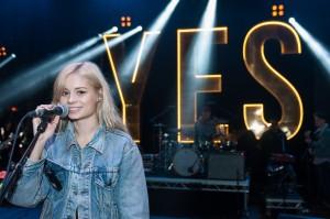 Nina Nesbitt soundchecking ahead NCS YES Live taking place at O2 Academy Brixton on Saturday 1 March www.NCSYes.co.uk