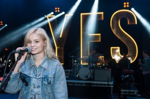 Nina Nesbitt soundchecking ahead NCS YES Live taking place at O2 Academy Brixton on Saturday 1 March www.NCSYes.co.uk