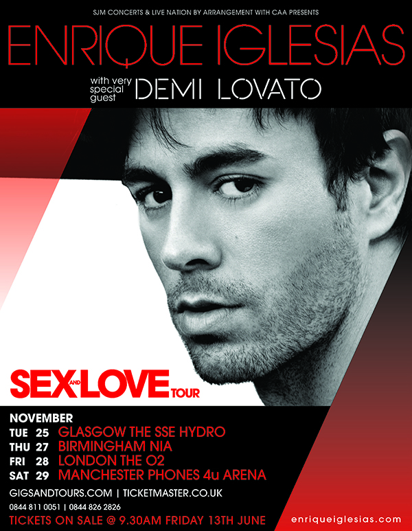 Sex & Love UK Tour