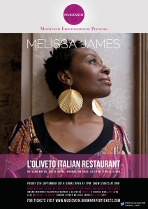 Musicvein Entertainment presents Melissa James