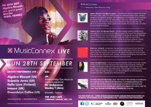 MusicConnex Sept flyer