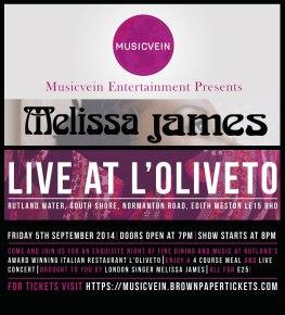 Melissa James @ L'Oliveto