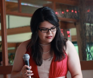 Dee Weaver - singer Something For The Weekend