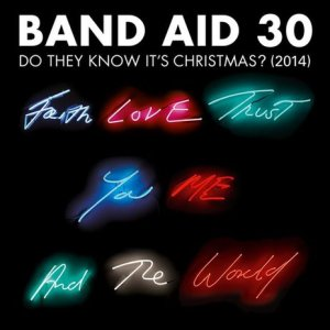 Band Aid 30 - Artwork by Tracey Emin