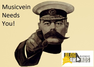 Blog Awards 2015 Musicvein