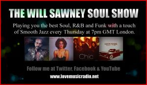 THE WILL SAWNEY SOUL SHOW flyer