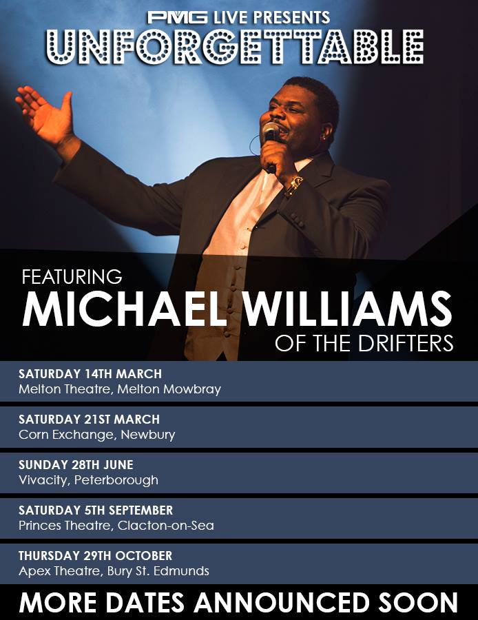 In Conversation with Michael Williams of The Drifters