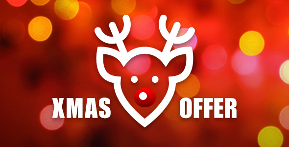 Christmas offer banner - unsigned guide