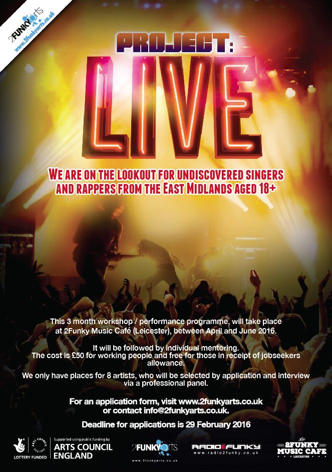 Project Live Poster