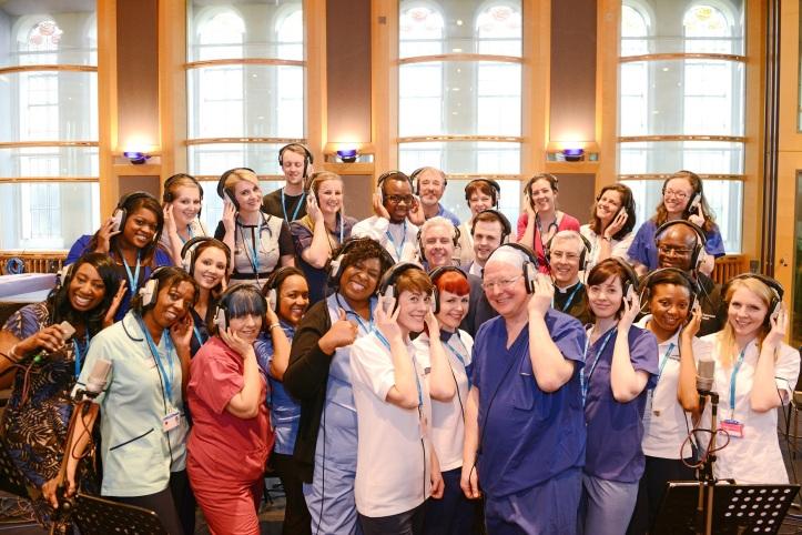 NHS Choir - credit Dominic Nicholls