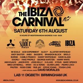 The Ibiza Carnival 2016 At Lab 11 –Birmingham