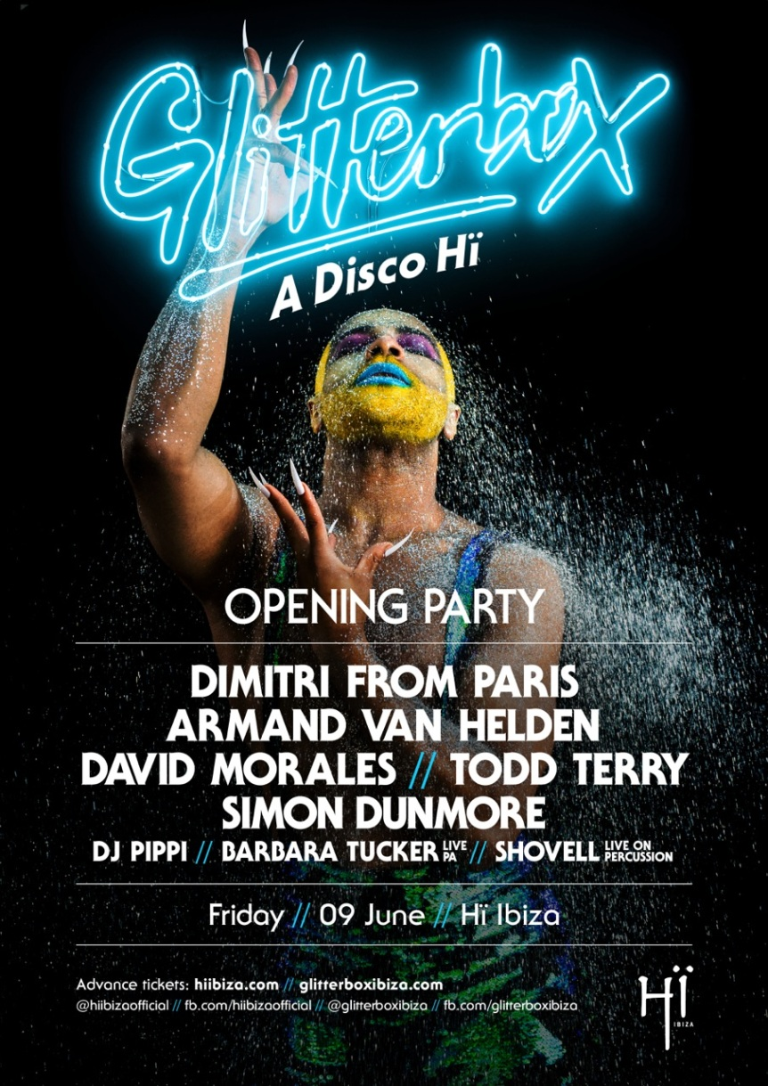 Glitterbox Launches at Hi Ibiza
