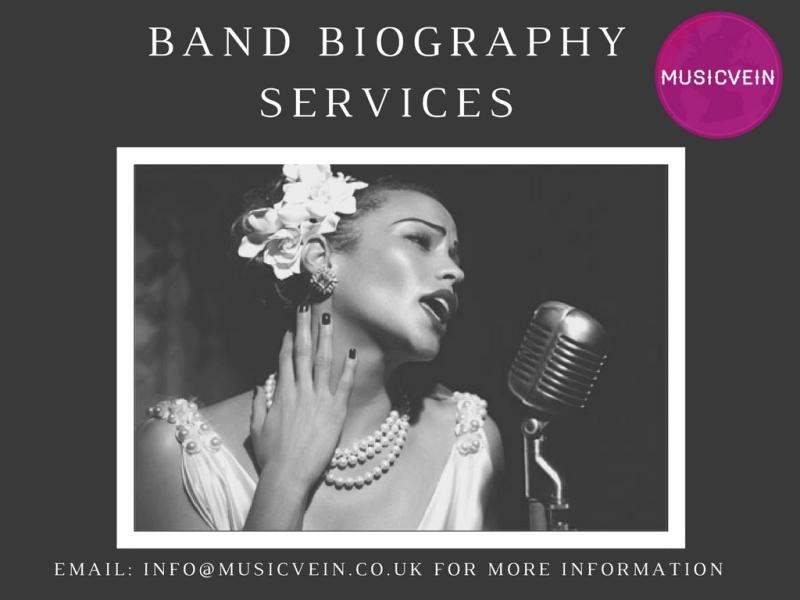 Musicvein Band Bio Services