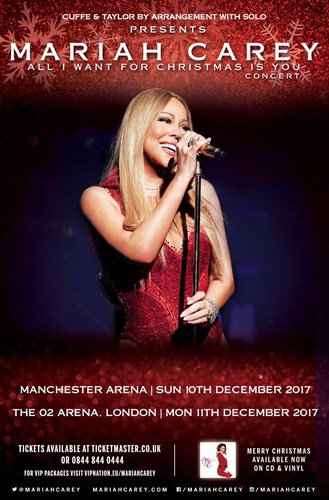 Mariah Carey Brings All I Want For Christmas Tour to theUK