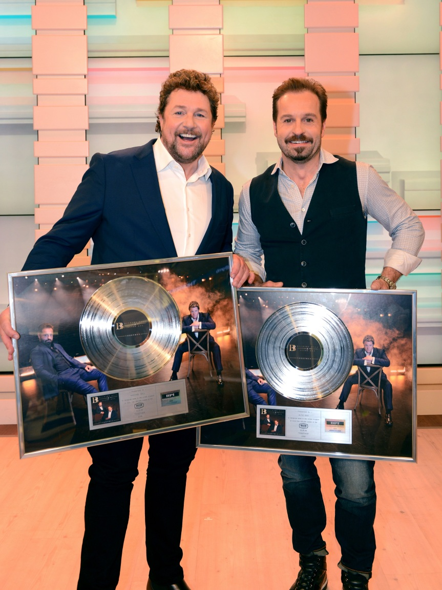Michael Ball and Alfie Boe - credit Dominic Nicholls