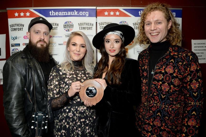 The Wandering Hearts Win The 'Bob Harris Emerging Artist'Prize